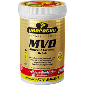 Peeroton Mineral Vitamin Drink Tub 300g, Strawberry-Rhubarb